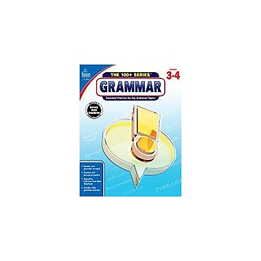 Carson-Dellosa Publishing Grammar, Grades 3-4 Workbook, Grade 3 - Grade 4 [eBook]