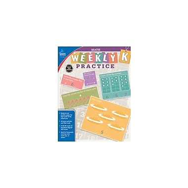 Carson-Dellosa Publishing Math, Grade K Workbook, Kindergarten [eBook]