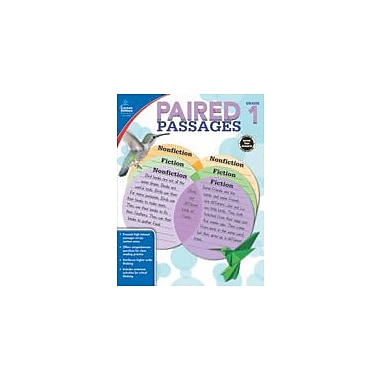 Carson-Dellosa Publishing Paired Passages, Grade 1 Workbook By Jeanette Ritch, Grade 1 [eBook]