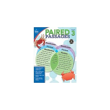 Carson-Dellosa Publishing Paired Passages, Grade 3 Workbook By Lynette Pyne, Grade 3 [eBook]