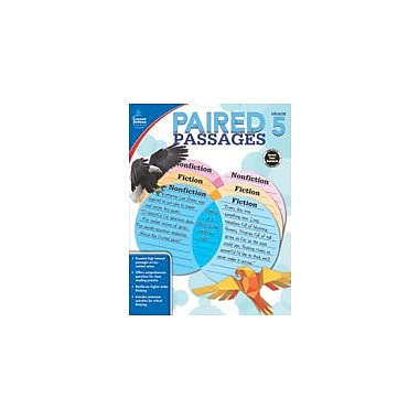Carson-Dellosa Publishing Paired Passages, Grade 5 Workbook By Kris Biddle, Grade 5 [eBook]