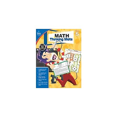 Carson-Dellosa Publishing Math Thinking Mats, Grade 5 Workbook [eBook]