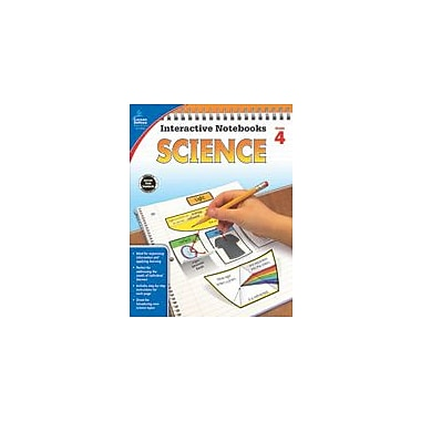 Carson-Dellosa Publishing Science, Grade 4 Workbook By Corcoran, Mary, Grade 4 [eBook]