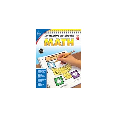 Carson-Dellosa Publishing Math, Grade 6 Workbook By Kee Daughtrey, Katie, Grade 6 [eBook]