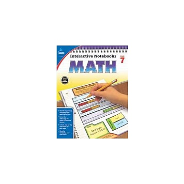 Carson-Dellosa Publishing Math, Grade 7 Workbook By Kee Daughtrey, Katie, Grade 7 [eBook]