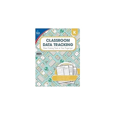 Carson-Dellosa Publishing Classroom Data Tracking, Grade K Workbook, Kindergarten [eBook]