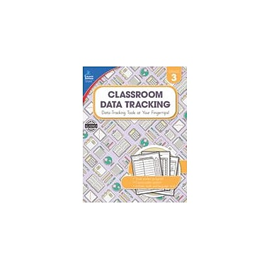 Carson-Dellosa Publishing Classroom Data Tracking, Grade 3 Workbook [eBook]