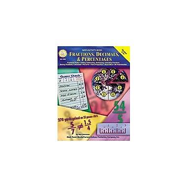 Carson-Dellosa Publishing Math Activity Book - Fractions, Decimals & Percentages Grades 5 To 8 - Mark Twain Media [eBook]