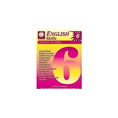 Carson-Dellosa Publishing English Skills: Grade 6 By Mark Twain Media Workbook By Broadwater, Deborah, Grade 6 [eBook]
