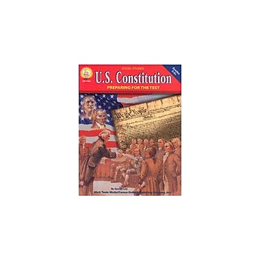 Carson-Dellosa Publishing U.S. Constitution By Mark Twain Media Workbook By Lee, George, Grade 5 - Grade 8 [eBook]