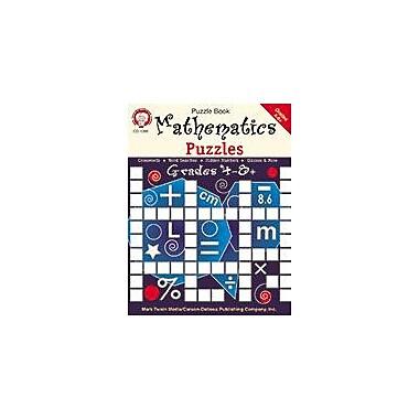 Carson-Dellosa Publishing Mathematics Puzzles, Grades 4 - 8+ Workbook By Mark Twain, Grade 4 - Grade 8 [eBook]