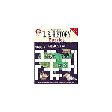 Carson-Dellosa Publishing U.S. History Puzzles, Grades 4 - 8+ Workbook By Mark Twain, Grade 4 - Grade 8 [eBook]