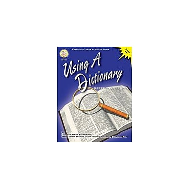 Carson-Dellosa Publishing Using A Dictionary By Mark Twain Media Workbook By Broadwater, Deborah, Grade 4 - Grade 8 [eBook]