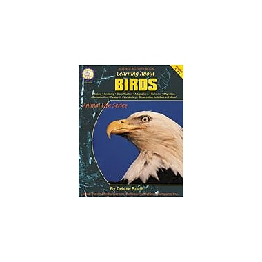 Carson-Dellosa Publishing Learning About Birds By Mark Twain Media Workbook By Routh, Debbie, Grade 4 - Grade 9 [eBook]