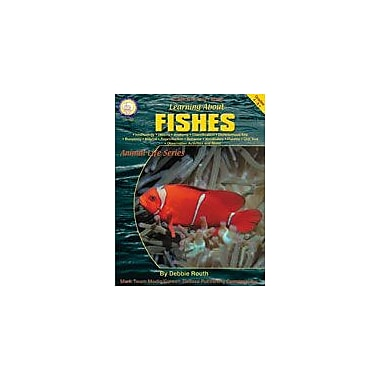 Carson-Dellosa Publishing Learning About Fishes By Mark Twain Media Workbook By Routh, Debbie, Grade 4 - Grade 9 [eBook]
