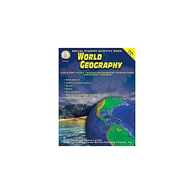Carson-Dellosa Publishing World Geography By Mark Twain Media Workbook By Stowe, Harriet Beecher, Grade 5 - Grade 9 [eBook]