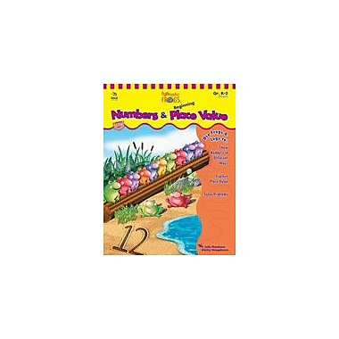 Carson-Dellosa Publishing Funtastic Frogs Math Numbers And Beginning Place Value Workbook, Kindergarten - Grade 2 [eBook]