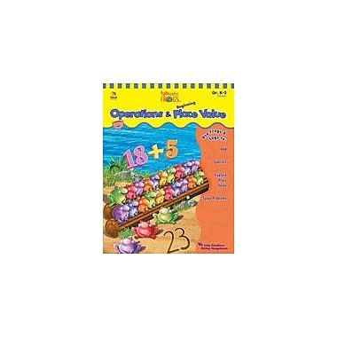 Carson-Dellosa Publishing Funtastic Frogs Math Operations And Beginning Place Value Workbook, Kindergarten - Grade 2 [eBook]