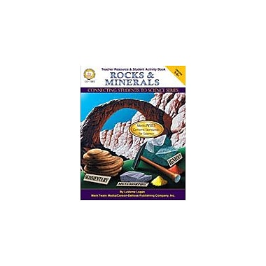 Carson-Dellosa Publishing Rocks And Minerals By Mark Twain Media Workbook By Logan, Laverne, Grade 5 - Grade 8 [eBook]