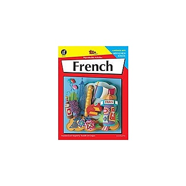 Carson-Dellosa Publishing French, Middle/High School Workbook By Danielle Degregory, Grade 6 - Grade 12 [eBook]