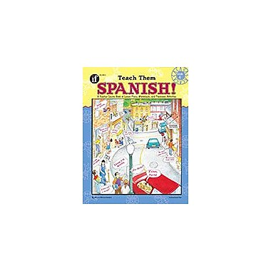 Carson-Dellosa Publishing Teach Them Spanish!, Grade 4 Workbook By Winnie Waltzer-Hackett, Grade 4 [eBook]