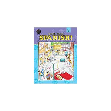 Carson-Dellosa Publishing Teach Them Spanish!, Grade 2 Workbook By Waltzer-Hackett, Winnie, Grade 2 [eBook]
