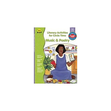 Carson-Dellosa Publishing Literacy Act. For Circle Time: Music And Poetry, PK-K Workbook, Preschool - Kindergarten [eBook]