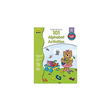 Carson-Dellosa Publishing 101 Alphabet Activities, PK-K Workbook By Schwimmer-Marier, Lisa, Preschool - Kindergarten [eBook]