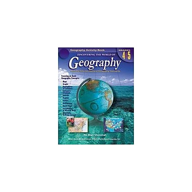 Carson-Dellosa Publishing Discovering The World Of Geography: Grades 4-5 By Mark Twain Media Workbook, Grade 4 - Grade 5 [eBook]
