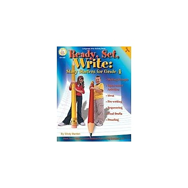 Carson-Dellosa Publishing Ready, Set, Write: Grade 4 By Mark Twain Media Workbook By Barden, Cindy, Grade 4 [eBook]
