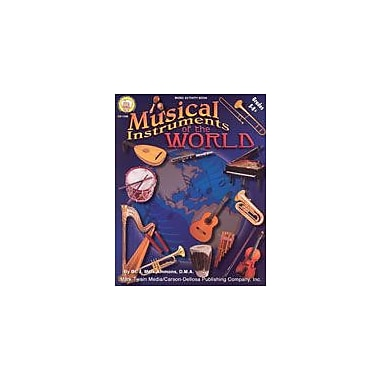 Carson-Dellosa Publishing Musical Instruments Of The World By Mark Twain Media Workbook, Grade 5 - Grade 8 [eBook]