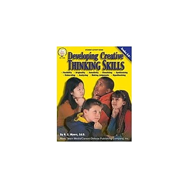 Carson-Dellosa Publishing Developing Creative Thinking Skills By Mark Twain Media Workbook, Grade 5 - Grade 8 [eBook]