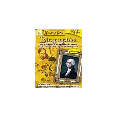 Carson-Dellosa Publishing Reading Tutor: Biographies By Mark Twain Media Workbook By Betz, Maureen, Grade 4 - Grade 8 [eBook]