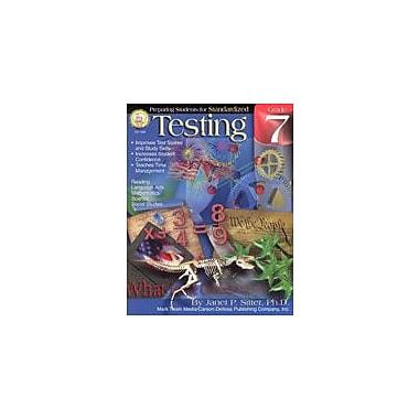 Carson-Dellosa Publishing Preparing Students For Standardized Testing: Grade 7 By Mark Twain Media Workbook, Grade 7 [eBook]