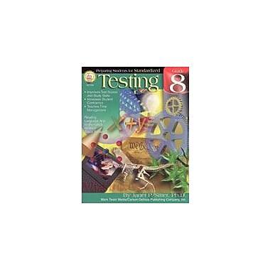 Carson-Dellosa Publishing Preparing Students For Standardized Testing: Grade 8 By Mark Twain Media Workbook, Grade 8 [eBook]