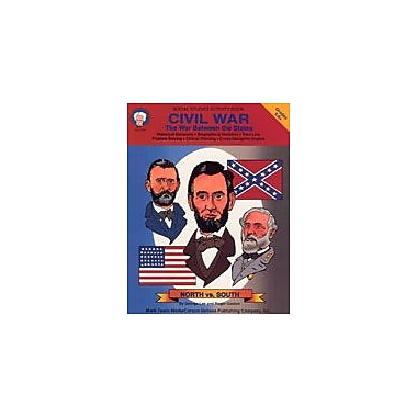 Carson-Dellosa Publishing Civil War By Mark Twain Media Workbook By Lee, George, Grade 5 - Grade 9 [eBook]