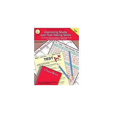 Carson-Dellosa Publishing Improving Study And Test-Taking By Mark Twain Media Workbook, Grade 5 - Grade 9 [eBook]