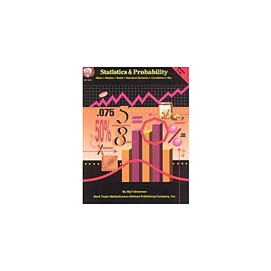 Carson-Dellosa Publishing Statistics & Probability By Mark Twain Media Workbook By Shireman, Myri, Grade 5 - Grade 8 [eBook]