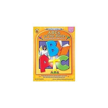 Carson-Dellosa Publishing Abcs Of The Bible, Grades Pk - K Workbook, Preschool - Kindergarten [eBook]