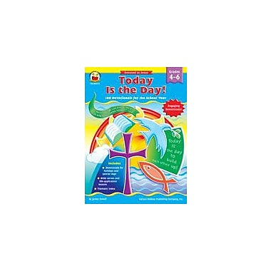 Carson-Dellosa Publishing Today Is The Day!, Grades 4-6 Workbook By Sewell, James, Grade 4 - Grade 6 [eBook]