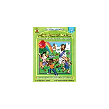Carson-Dellosa Publishing Miracles Of Jesus Workbook By Maselli, Christopher, Grade 1 - Grade 3 [eBook]