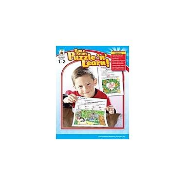 Carson-Dellosa Publishing Bible Story Puzzle 'N Learn!, Grades 1-2 Workbook By Standke, Linda, Grade 1 - Grade 2 [eBook]