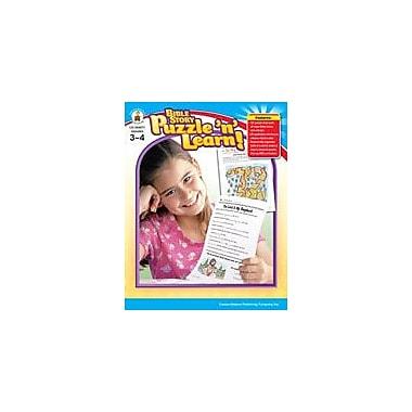 Carson-Dellosa Publishing Bible Story Puzzle 'N Learn!, Grades 3-4 Workbook By Standke, Linda, Grade 3 - Grade 4 [eBook]