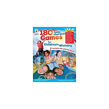 Carson-Dellosa Publishing 180 Faith-Charged Games For Children's Ministry Workbook, Grade 1 - Grade 4 [eBook]