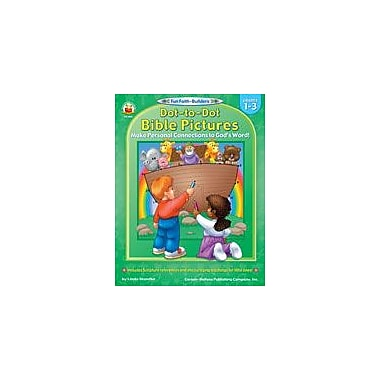 Carson-Dellosa Publishing Dot-To-Dot Bible Pictures Workbook, Grade 1 - Grade 3 [eBook]