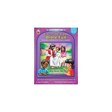 Carson-Dellosa Publishing Fill-In-The-Blank Bible Fun Workbook, Grade 1 - Grade 3 [eBook]