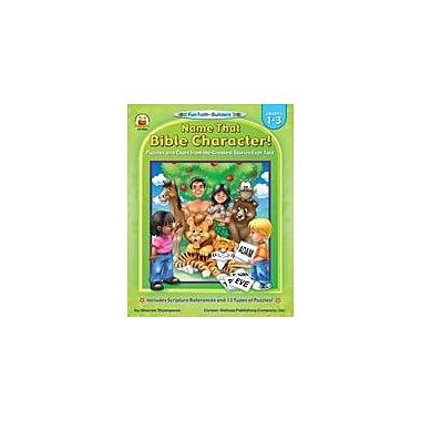 Carson-Dellosa Publishing Fun-Faith Builders Workbook, Grade 1 - Grade 3 [eBook]
