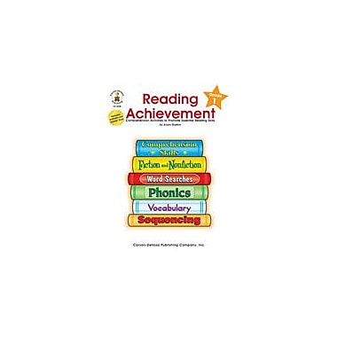 Carson-Dellosa Publishing Reading Achievement, Grade 1 Workbook By Shelton, Alison, Grade 1 [eBook]