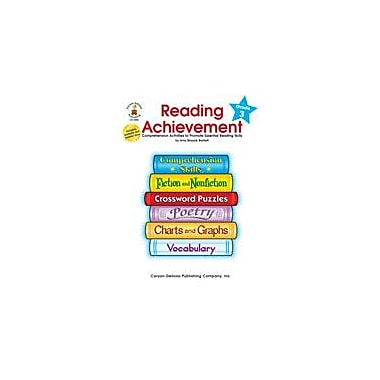Carson-Dellosa Publishing Reading Achievement, Grade 3 Workbook By Bartlett, Amy Blaszak, Grade 3 [eBook]