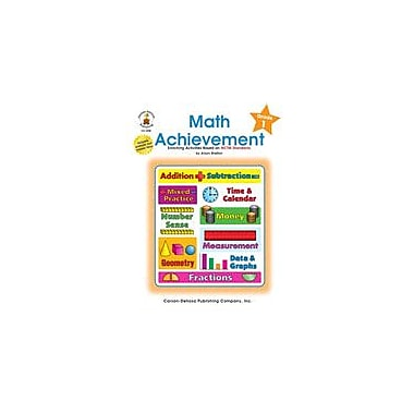 Carson-Dellosa Publishing Math Achievement, Grade 1 Workbook By Shelton, Alison, Grade 1 [eBook]